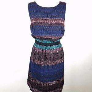LOFT  |  Sleeveless Tribal Print Dress